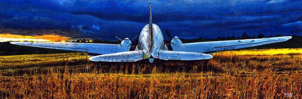 galerie d'art avions 2° GM - WWII aircrafts art gallery