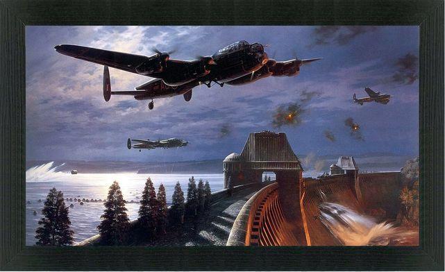 Avro lancaster dam busters nicolas trudgian