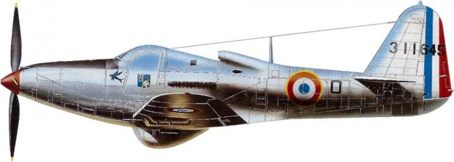 Bell p 63c escadron 3 6 roussillon indochine