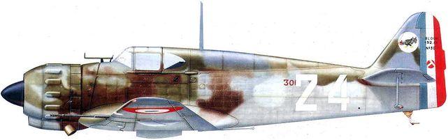 Bloch mb 152 dhorne
