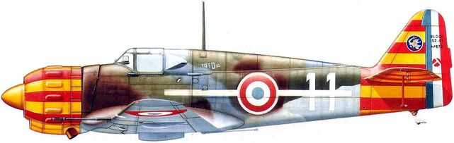 Bloch mb 152 no 670 dhorne