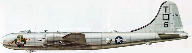 Boeing b 29 lucky leven dhorne