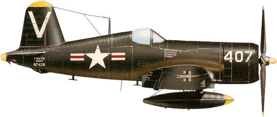 Chance vought f4u 4 corsair vf 114 escadre cvg 11