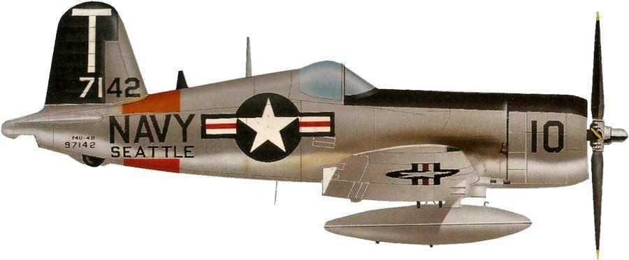 Chance vought f4u 4 corsair vf 88 escadre cvg 88