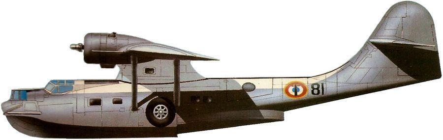 Consolidated pby 5a catalina aeronautique navale 1970