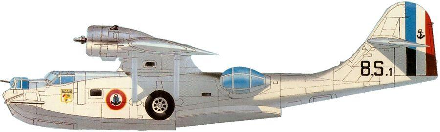 Consolidated pby 5a catalina escadrille 8 s indochine 1951