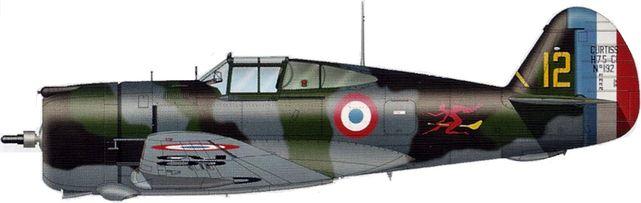 Curtiss h 75 n192 tilley