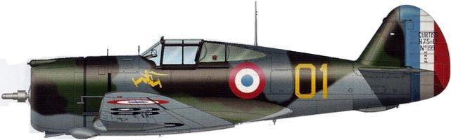 Curtiss h 75 n199 tilley