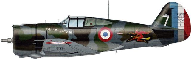 Curtiss h 75 n279 tilley