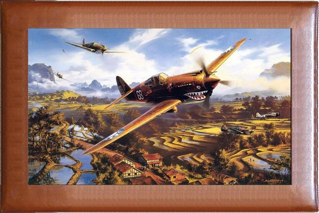 Curtiss p 40 flying tiger nicolas trudgian