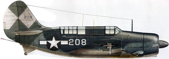 Curtiss sb2c 4 dhorne