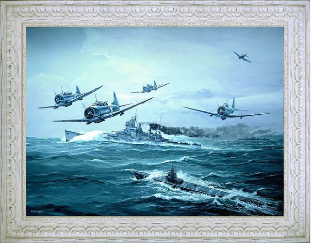 Escadrille de dauntless guyot