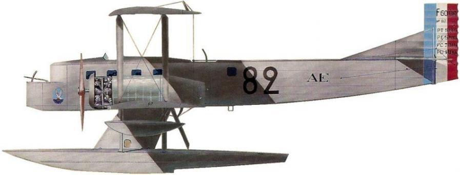 Farman 60 goliath no 82 escadrille t10 aviation df escadre saint raphael 1924 jean jacques petit
