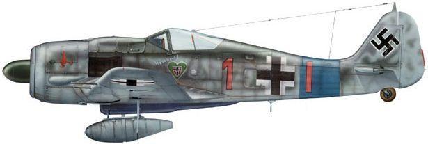 Focke wulf fw 190 a dhorne