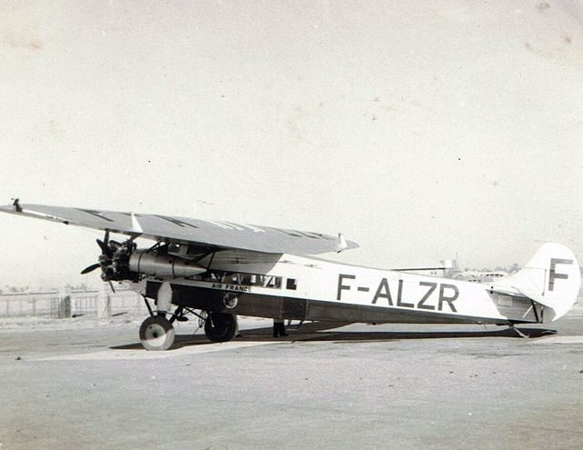 Fokker f alzr air france