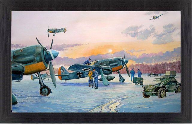 Fw 190 a l aube guyot
