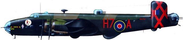 Handley page halifax sqn 346 jj petit