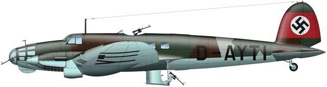 Heinkel he 111 b tilley