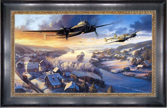 Heinkel he 219 me 110 nicolas trudgian