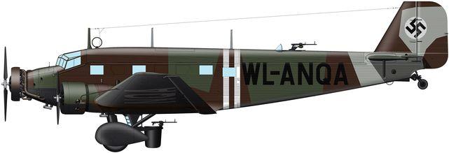 Junkers ju52 kg 100 tilley
