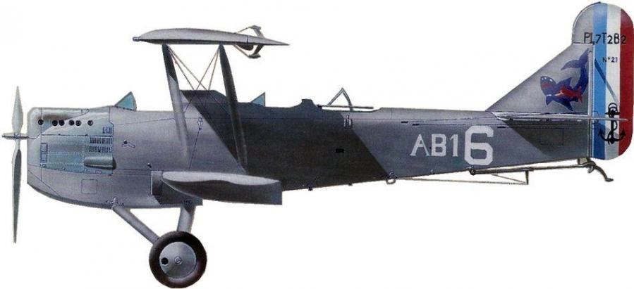 Levasseur pl 7 escadrille ab1 flotille f1a lanveoc poulmic 1939 jean jacques petit