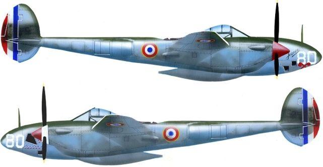 Lockheed f 5a jj petit
