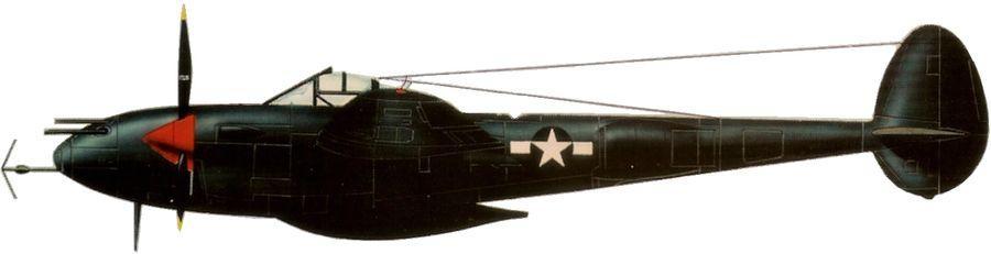 Lockheed p 38 j 5 lightning 6 nfs 18 fg