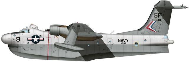 Marlin p5m navy sf 5539 pa tilley