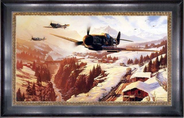 Messerschmitt bf 109g nicolas trudgian