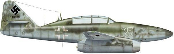 Messerschmitt me 262 dhorne