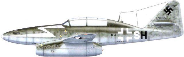 Messerschmitt me 262 kg 53 dhorne