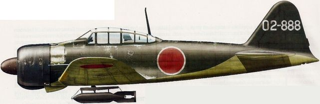 Mitsubishi a6m2 dhorne