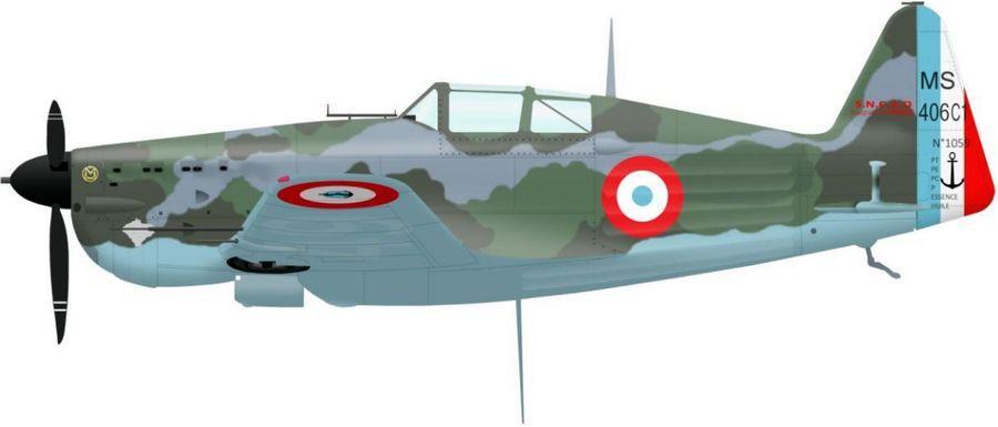 Morane 406 n 1059 l 649 de l escadrille ac5 en juin 1940