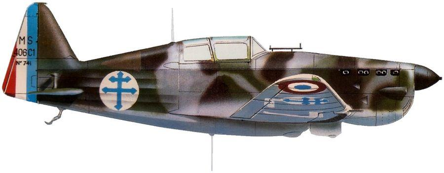 Morane ms 406 no 741 gc alsace haifa 1941