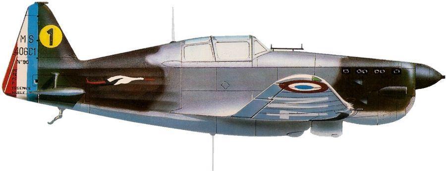 Morane ms 406 no 90 gc 2 6 1939