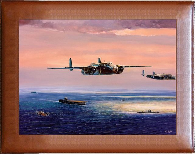 North american b 25 mitchell guyot