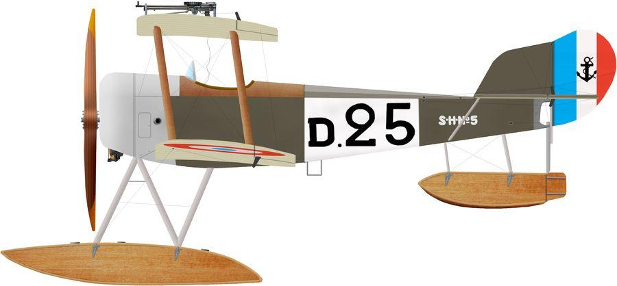 Sopwith baby d 25 cam dunkerque
