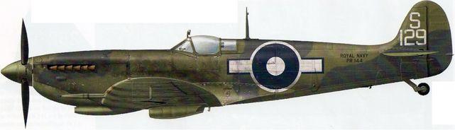 Supermarine seafire l iii s129 dekker